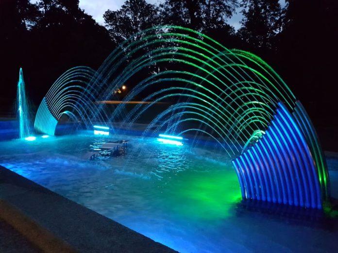 Večernje izdanje čakovečke fontane