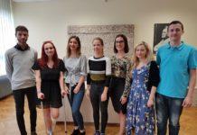 Maria Levačić, Nina Bočkaj, Vilim Muršić, Vivien Gudlin, Dina Posedi, Lea Šarić i Hrvoje Novak