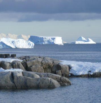 Antarktika led
