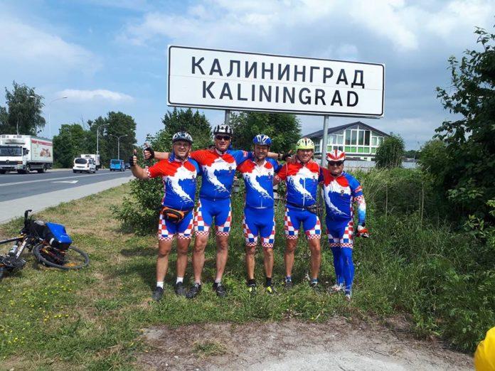 Biciklisti put Rusija Vlado Mavrin