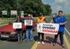 Prosvjed protiv poskupljenja goriva Prelog