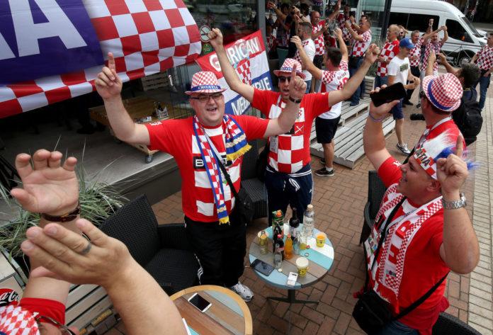 Kalinjingrad hrvatski navijači Svjetsko nogometno prvenstvo