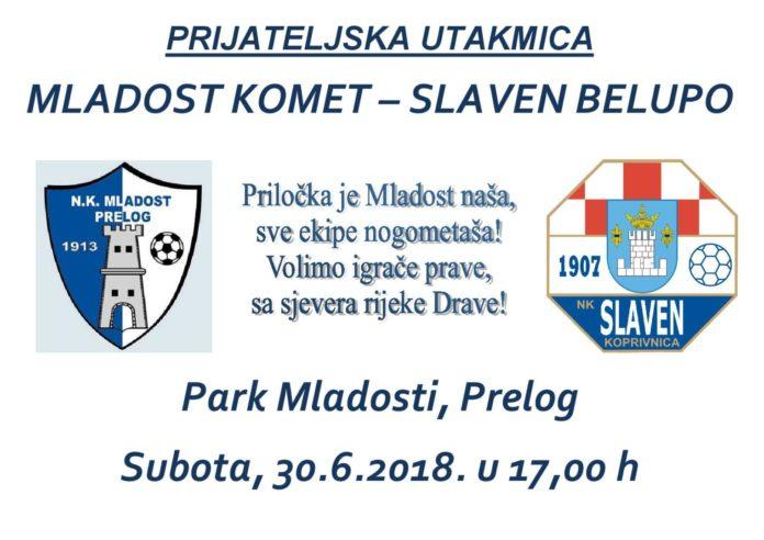 NK Mladost Komet NK Slaven Belupo