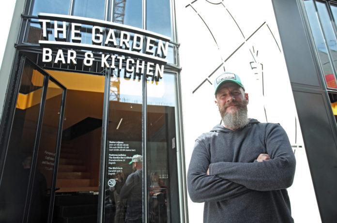 Nick Colgan The Garden Bar & Kitchen