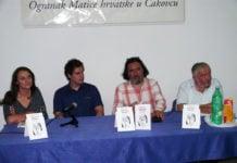 Ivana Zanjko, Tomislav Dretar, Ivan Čehok i Ernest Fišer