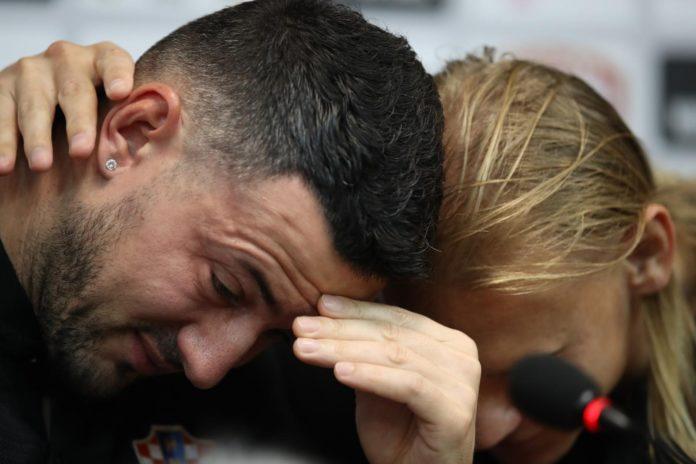 Danijel Subašić suze