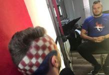 Frizerski salon Fanika navijačka frizura1