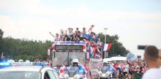 Hrvatska nogometna reprezentacija Zagreb autobusa
