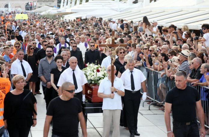 Oliver Dragojević posljednji ispraćaj Split