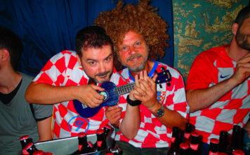 Hrvatski navijači u Londonu