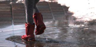 kiša pljusak lokva