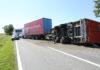 prevrnuta prikolica kamiona cesta Žiškovec Štrukovec1