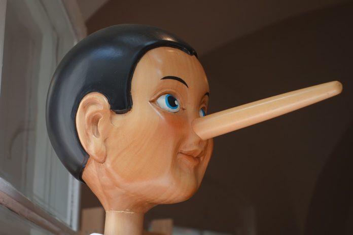 Laganje laž Pinokio