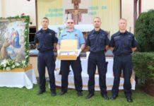 Policajci procesija Porcijunkulovo1