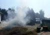 Pušćine požar auto