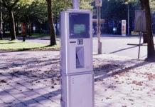 automat za parkiranje parkirni aparat