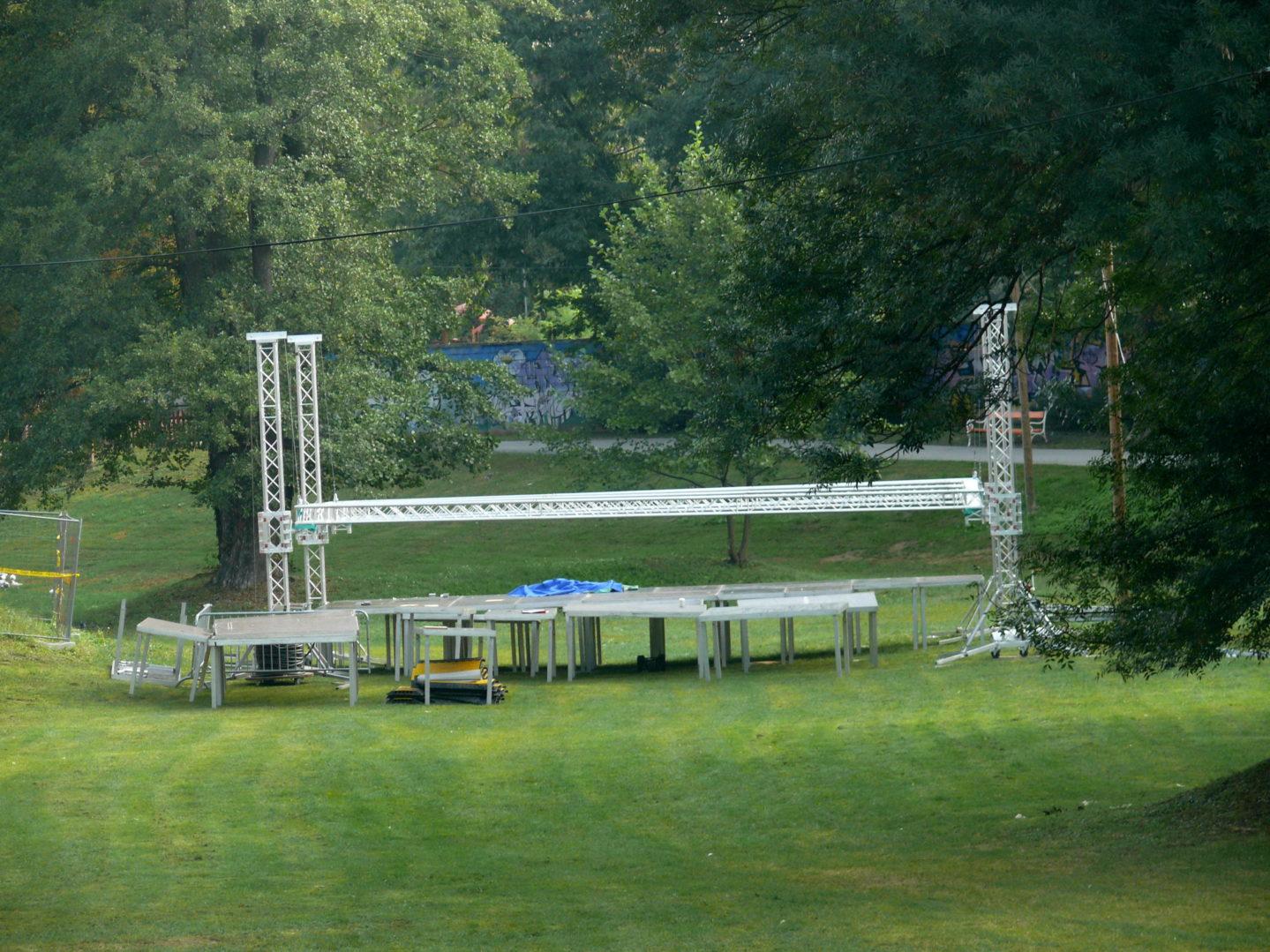 Festivalska pozornica 3FF Festivala alternative ovog ljeta izmještene je na novu lokaciju u čakovečkom parku