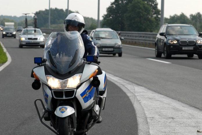 policajac motor autocesta