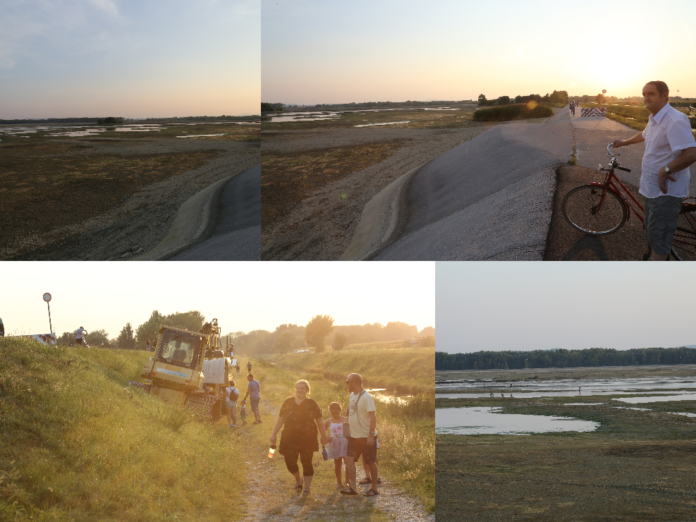 Prazno jezero HE Dubrava