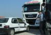 sudar kamion auto rotor na ulazu u Čakovec1