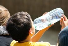 voda pijenje ljeto vruće