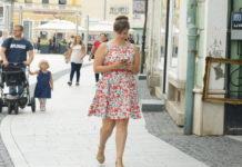 špica haljina ljeto