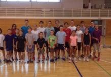 Badmintonski klub Međimurje pripreme1