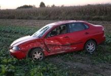Cesta Orehovica-Vularija sudar dva auta1