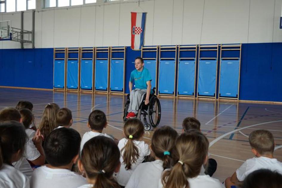 Hrvatski olimpijski dan OŠ Ivanovec Nino Baša
