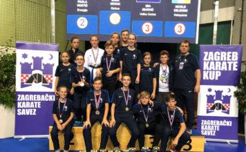 Karate klub Globus Zagreb karate cup