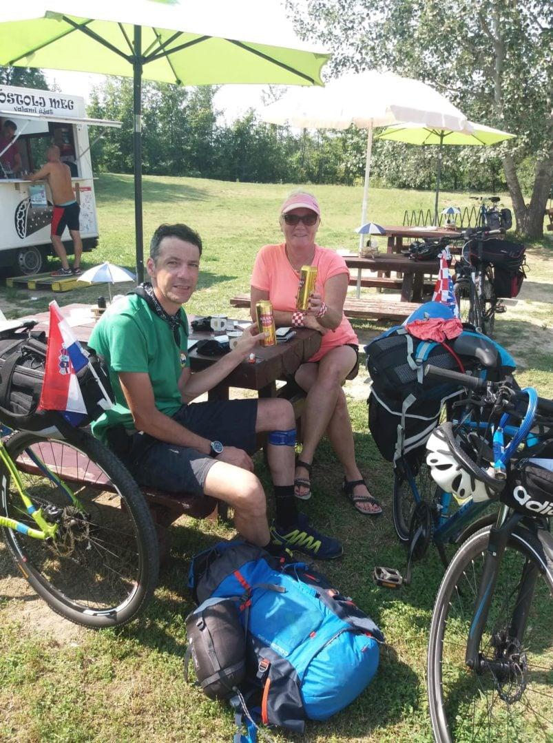Ljiljana i Elvis bicikliranje Balaton (10)