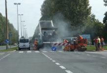 Zrinsko-Frankopanska ulica Čakovec novi asfalt1