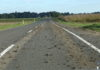 cesta Mala Subotica - Belica blato na cesti