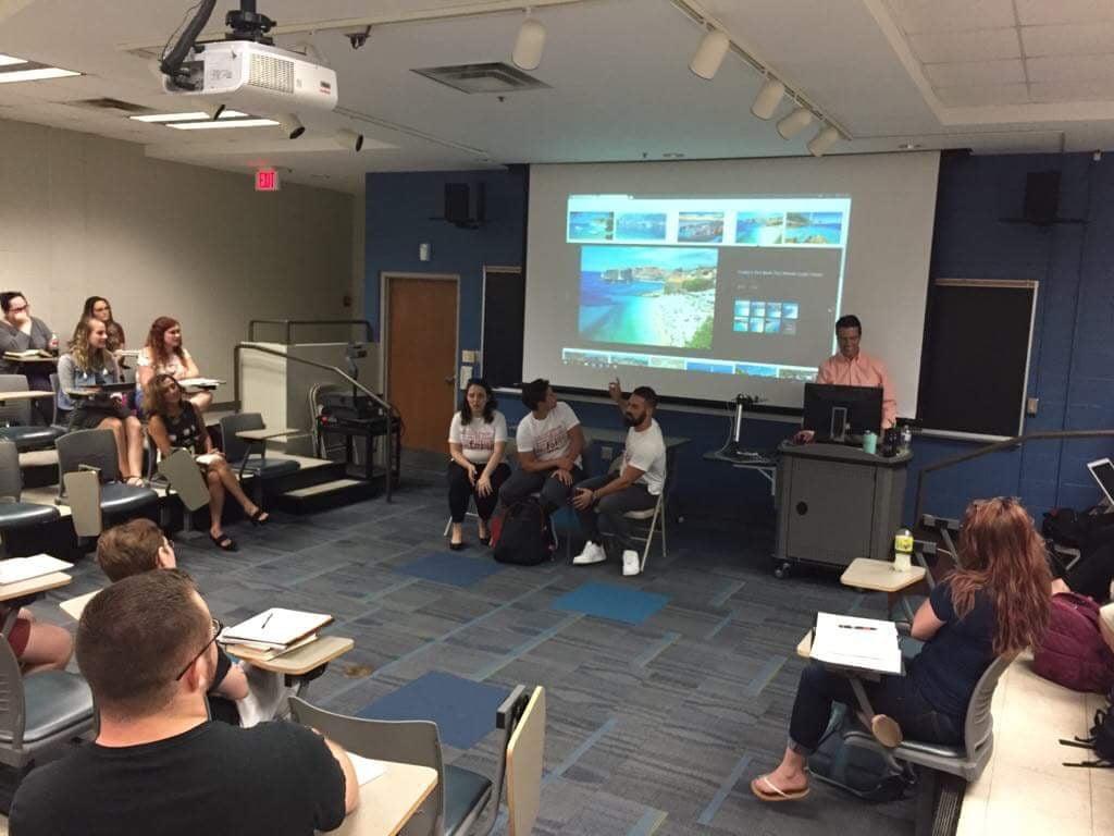 Online upoznavanje studenata sa sveučilišta