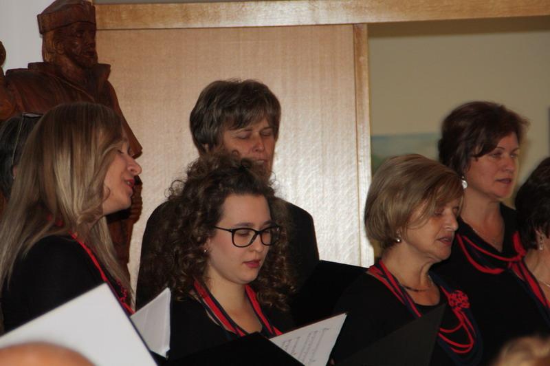 """Pjevački zbor """"Pjesma"""" čija je članica i Ljubica Ilijaš"""
