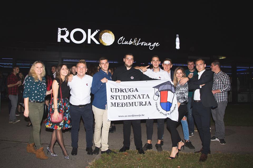 FOTO: Studenti se odlično zabavili na 14. Međimurskoj fešti u zagrebačkom Roku