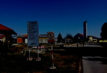uređenje vanjski prostor Doma kulture i crkve u Podbrest
