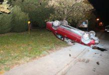 auto na krovu prevrtanje prometna nesreća Čakovec