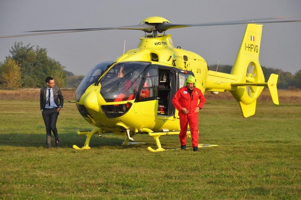 Robert Sabol, podrijetlom iz Međimurja, inicirao slijetanje helikoptera hitne medicine u Pribislavec