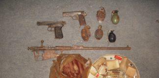 nađeno oružje podrum