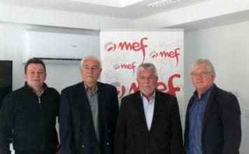 Robert Guterman, Rajko Dobošić, Franjo Bukal i Mirko Švenda Žiga