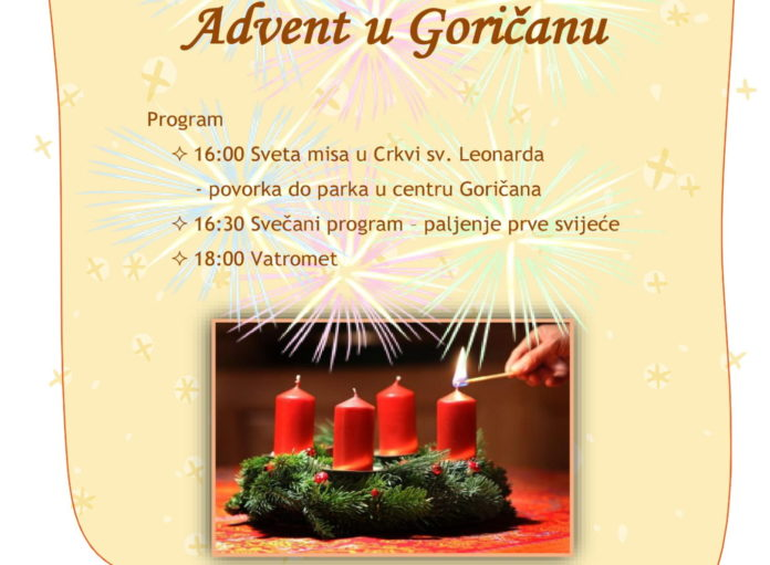Advent u Goričanu