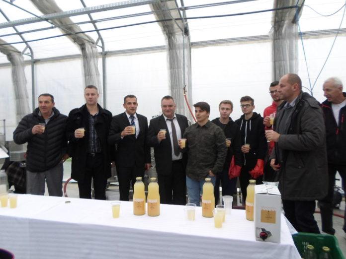 Gospodarska škola uređaji proizvodnja soka1
