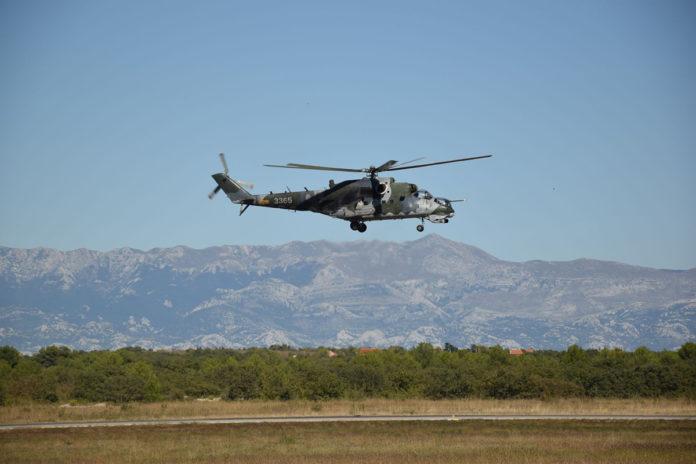 Hrvatska vojska helikopter