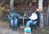 Likovi u dvorištu Mursko Središće1