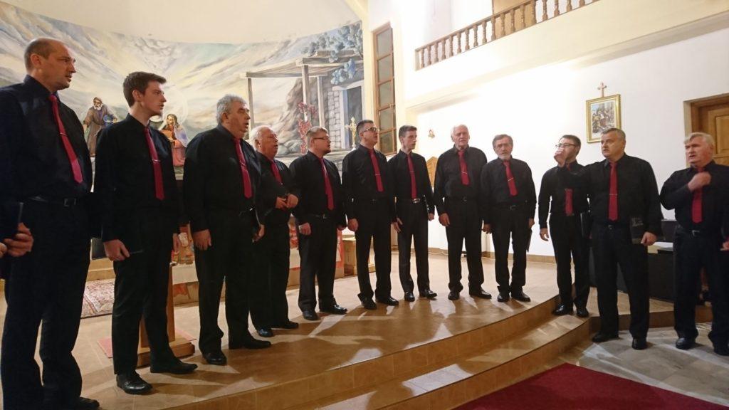 Muška vokalna skupina župe Sveti Juraj na Bregu