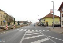 Prelog gradnja semafora Srednja škola Prelog1