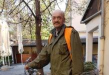 Boris Kunšten i danas biciklira