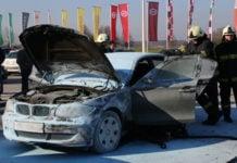 požar auto Galerija Sjever1