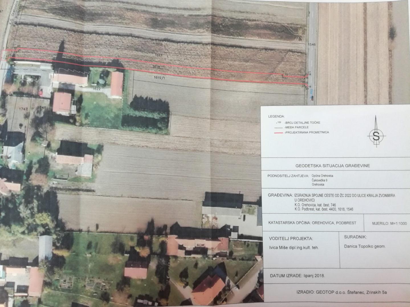 U Orehovici će se graditi spojna cesta od ŽC 2022 do Ulice kralja Zvonimira i parkiralište